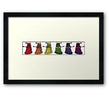 The Grateful Daleks (No Text) Framed Print