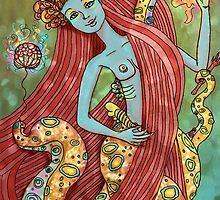 Sea Witch by Valery  Caputi Lopez