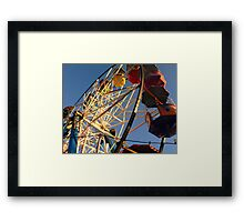 What goes up, must come down..... Framed Print