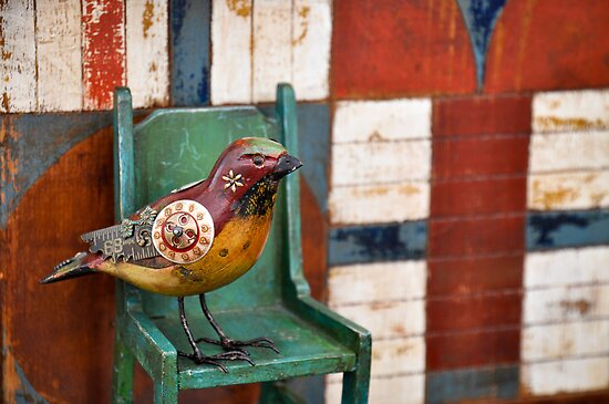 Vintage Bird by Reese Ferrier
