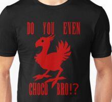 Choco Bro!? Red Version  Unisex T-Shirt