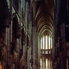 Nave Cathedral Koln Germany 19840628 0005 by Fred Mitchell