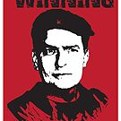 Winning Charlie Sheen Poster by designerjenb