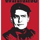 Winning Charlie Sheen Poster by designerjenb