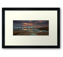 Ivo Rowe Pool - Sunrise Framed Print
