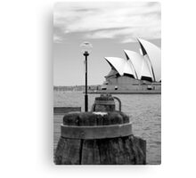 sails of the harbour Canvas Print