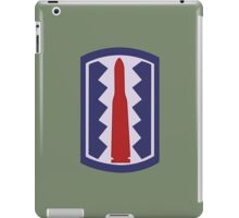 "197th Infantry Brigade ""Sledgehammer"" (United States Army) iPad Case/Skin"