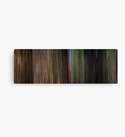 Moviebarcode: The Wizard of Oz (1939) Canvas Print