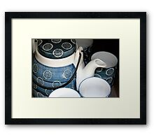 Wire Handled Teapot Framed Print