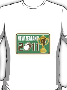 new zealand rugby  world cup 2011 T-Shirt