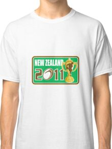 new zealand rugby  world cup 2011 Classic T-Shirt