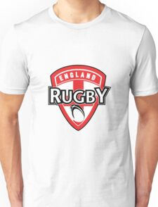 England rugby ball shield flag Unisex T-Shirt