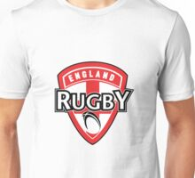 England rugby ball shield flag Unisex T-Shirt