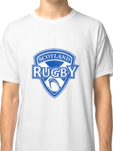 Scotland rugby ball and shield Classic T-Shirt