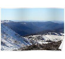 NSW Ski Fields Australia Poster