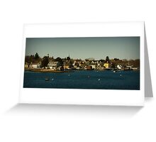 Portsmouth Harbour Greeting Card