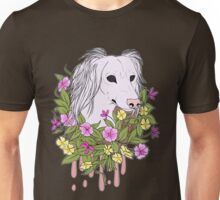 Light Floral Canine Unisex T-Shirt