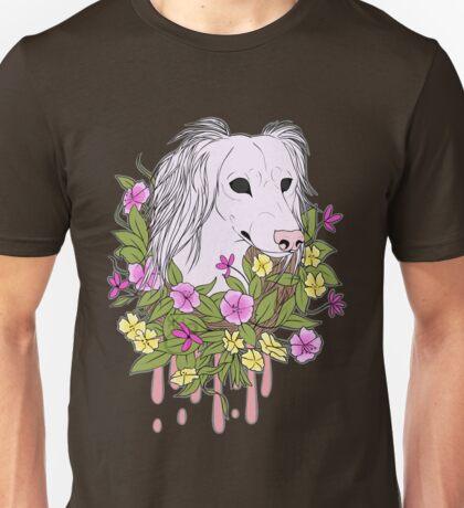 Light Floral Canine Unisex T-Shirt