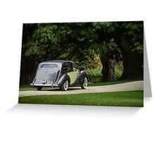 1957 Rolls Royce Silver Wrath - Salon Prive 2015 Greeting Card