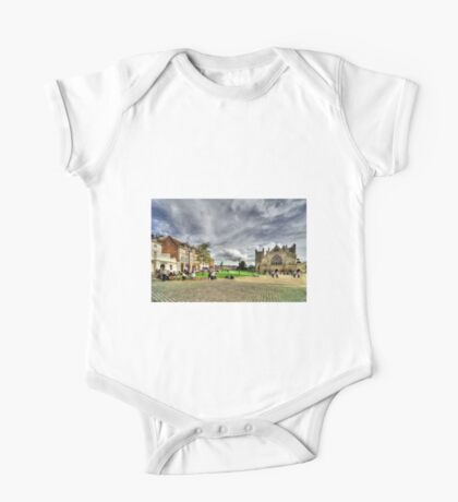 Cathedral Green  One Piece - Short Sleeve