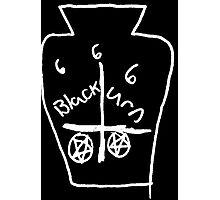 666 BLACK URN DEATH 666 Photographic Print