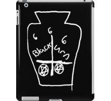 666 BLACK URN DEATH 666 iPad Case/Skin