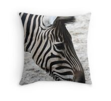 What's Black and White Throw Pillow