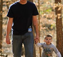 Hangin' with dad by Erica Sprouse