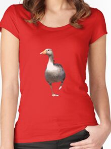 Goose on the Loose Women's Fitted Scoop T-Shirt