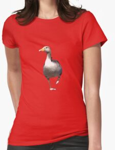 Goose on the Loose Womens Fitted T-Shirt