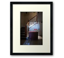 Abandoned Medical Staff Office Framed Print