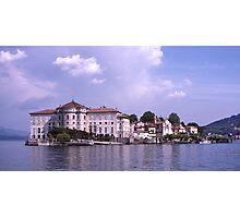 Isola Bella, lake Maggiore, Italy Photographic Print