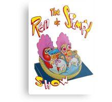 Ren & Stimpy Metal Print
