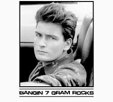 Charlie Sheen: Bangin' 7 Gram Rocks. Unisex T-Shirt