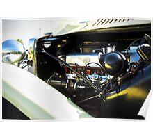 Vintage MG Roadster Poster