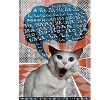 3-3-11 (Morrissey's Cat) Photographic Print