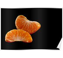 Tangerine Slices Poster