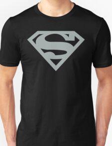 Silver Superman Symbol T-Shirt