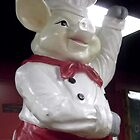 Symbol of Good Old Southern BBQ by Charldia