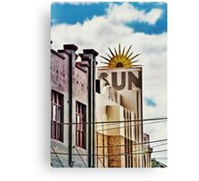 The Sun Theatre - Yarraville Canvas Print