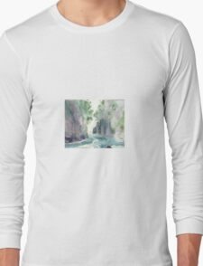 Franklin River, Tasmania, Australia (it's still a beautiful world) Long Sleeve T-Shirt