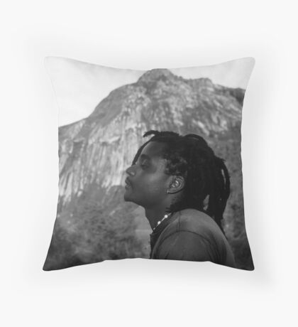 Soaking Up the Good Vibes Throw Pillow