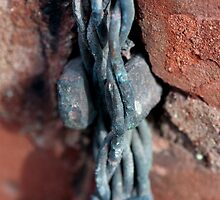 Old Wire And Brick by Gary Chapple