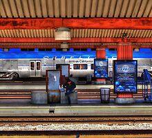 Amtrak Wait by Stephen Burke