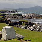 View of Ocean in Northern Ireland by Lucinda Walter