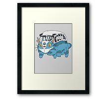 VW catbus Framed Print