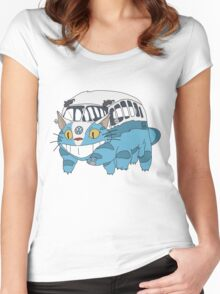 VW catbus Women's Fitted Scoop T-Shirt