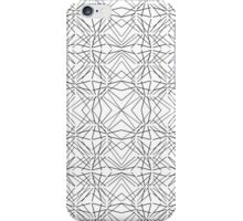 Modern Funky Geometric Line Pattern iPhone Case/Skin