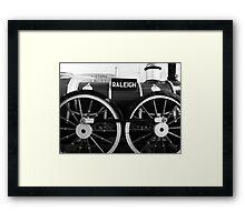 Raleigh Framed Print