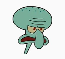 Angry Squidward Unisex T-Shirt